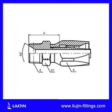 Free sample available factory supply hydraulic fitting dimension
