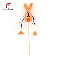 No.1 Yiwu Agent!!! 2015 Hotselling Handcraft l Easter egg in rabbit style for Easter Decoration, plastic easter egg decoration