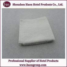 high quality 100% indian cotton tea towel white face towels made in China