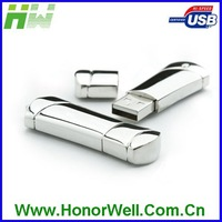Delicate Stainless Shinning Metal 16GB Usb Flash Disk Pendrive Flash