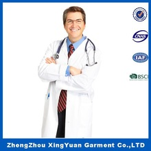 medical new brand lab coat made in China,high quality white doctor lab coats,hospital uniform