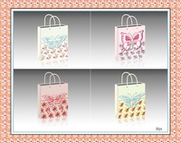 2015 hot selling X-mas gift paper bag & butterfly bag