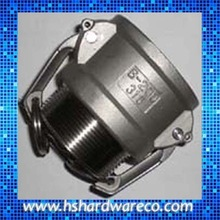 Stainless Steel Hose Coupler / Camlock Coupling With Locking Ring
