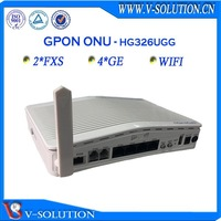 FTTH GPON ONT 2fxs+ 4ge wifi onu wireless network router