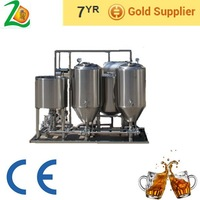 CE/ Clean used beer brewing equipment/ beer brewing machine/ home beer brewing kit ( SD-50)