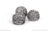 6PK Stainless steel scourer household products