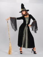 2015 New fashion Witch Clothing Cosplay Carnival Halloween Costume