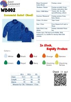 Hot sales Custom Logo print Jacket windbreaker with different color with hood