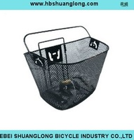 Removable bicycle basket/Bicycle Steel Basket with Quick Release system