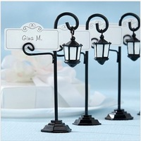 streetlight place card holder wedding gifts giveaways