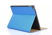 New Arrival Luxury Shiny Leather Case For Apple iPad 6 / Air 2