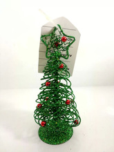 Cool mini artificial metal christmas tree decor