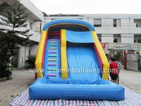 CE certified inflatable bouncer slide, big inflatable water slide for sale Z3063