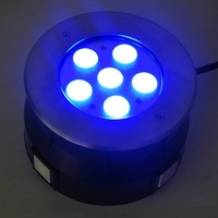IP68 18w 24v rgb led marine dock lights 316SS