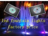 2012hot sales RGB 12w led fountain light ring factory price