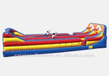 inflatable 40ft Bungee Run & Basketball Shootout water slide,water game