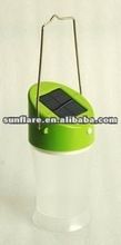 2012 new hot sale environment portable led solar camping light