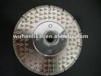 Diamond used concrete saws blade