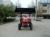Garden tractor with front end loader&backhoe with high quality ,promotional item