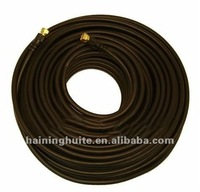 BLACK 75 OHM RG-6 COAXIAL 100' SATELLITE, TV CABLE
