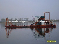 Small Gold Dredge Boat