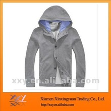 Men's Reversible CVC Camouflage Hoodies 2012