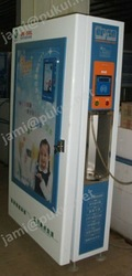 LCD screen advertisement water vending machine/Automatic 24 hours service-help refill purifed water station water vending