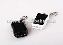 Mini Solar Travelling Keychain Charger&USB Portable Battery Charger Charge From Sunlight