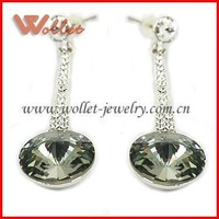 Huge Diamond Earring Jewelry for Bridal Gifts