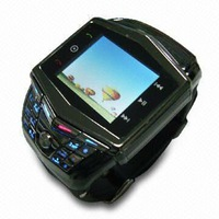 CE certificated watch cell phone ultra thin with keyboard bluetooth 2mp camera