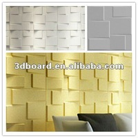 very popular empaistic effect pvc slatwall panel for wall