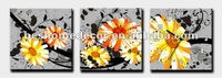 paintings flowers famous artists,7 flowers wall painting with clock
