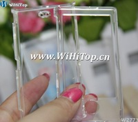 For iPod Nano 7 Clear Hard Plastic Front Back Case Cover.