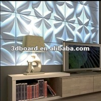 wave effect textured mdf wall covering panels