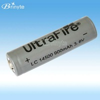 UltraFire 14500 3.6V protected 3.6v li-ion rechargeable battery