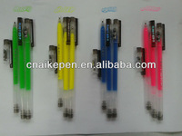 thin barrel gel ink pen G-828 without refill