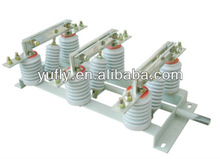 GN19-12 12kV 630A high voltage 3 phase Indoor disconnect switch isolator switch hand disconnecting switch