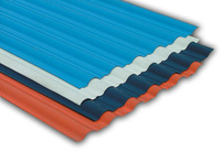 Pre-painted corrugated roofing sheets Color steel roof tile Curved PPGI sheets