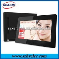Professional indoor lcd advertising player 10inch for store with battery
