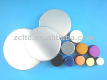 32mm aluminum cap,aluminum lid for jars