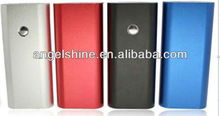 Newest portable battery power bank/ mobile power bank 4400mAh for iphone and any type of cell phone