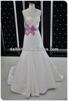 F391 2013 The hot sales latest Luxury Pearls Beaded Expensive Designer Stain Wedding Dresses