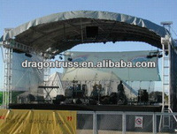 Outdoor stage Roof truss, show stage roof , stage roof truss system