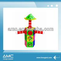 3D building block intellectual toy