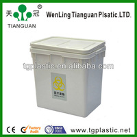 durable plastic box with lid
