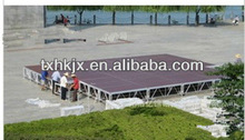 Specially offer of aluminum plywood moving stage for performance