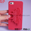 New Model Butterfly Silicone Case For Iphone 5 With Excellent Touch Feeling