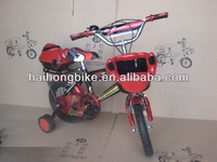 High end steel material baby boy kid bike,race bike,racing bicycle bike bmx with basket rear box