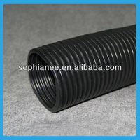 Wholesale Large Plastic Flexible Drain Black Corrugated Pipe