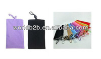 Cotton flannel Pouch Bag Case for Samsung Galaxy S4 i9500 /mobile phones